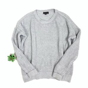 Topshop gray knit sweater size 2 🤖